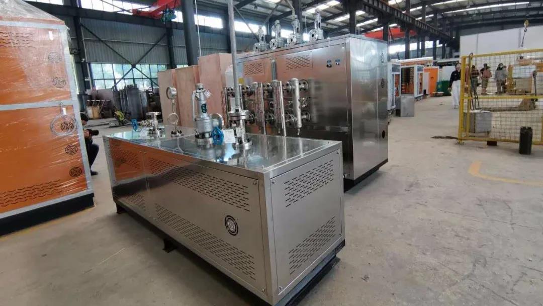 浙江一机电企业购入诺贝思定制型高压过热蒸汽发生器进行实验研究